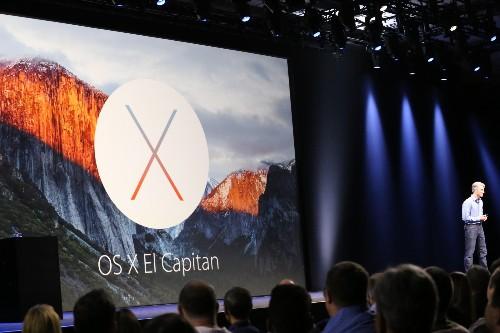 Apple Announces Mac OS X 10.11 El Capitan