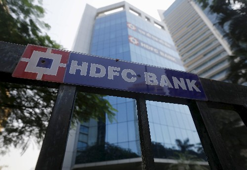 HDFC Bank fourth-quarter profit up 22.6 percent to record high
