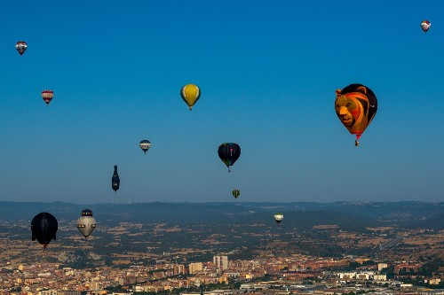 European Hot Air Balloon Festival in Pictures