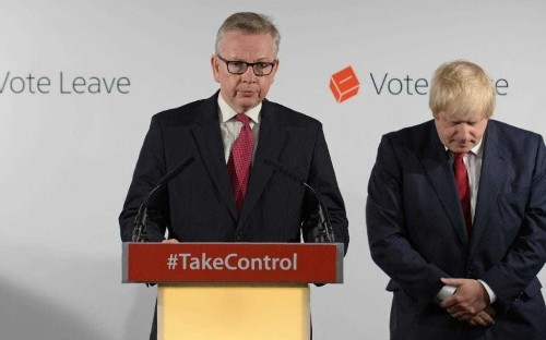 Boris Johnson allies accuse Michael Gove of being a 'Machiavellian psychopath' who plotted to win leadership 'from the beginning'