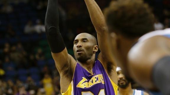 Kobe tops Jordan on NBA scoring list