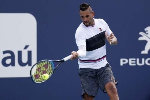 Tennis: Australian Kyrgios pulls out of French Open - organisers