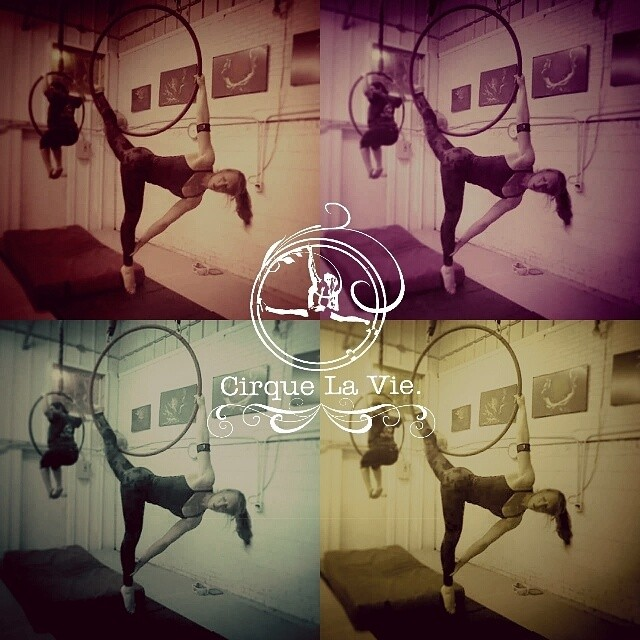 that feeling of pure joy we feel when we do what we love. #cirquelavie #fitness #circus #yoga #aerial #inspire