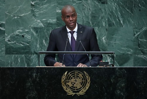 Haiti's president defies violent protests, will not step down