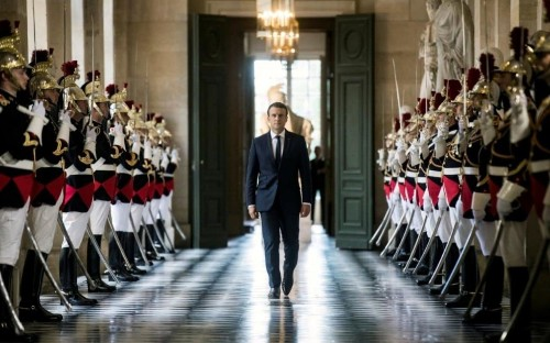 Europe has 'lost its way' warns Emmanuel Macron in 'state of the union' address at Versailles palace