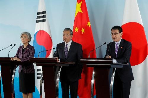 Japão e Coreia do Sul combinam debater trabalho forçado nos tempos de guerra