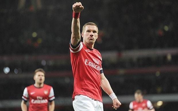 Arsenal transfer news: Inter Milan express interest in signing Lukas Podolski