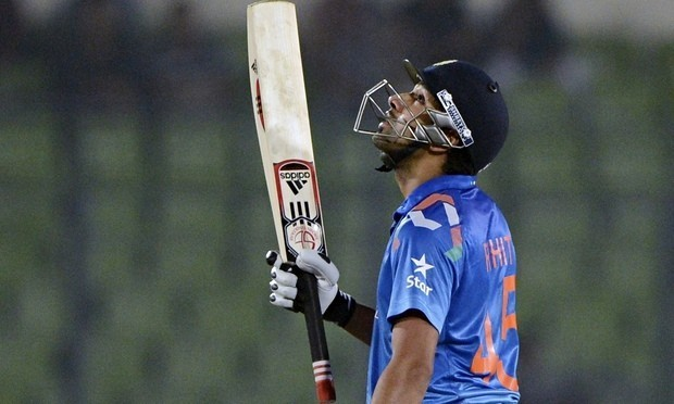 India's Rohit Sharma smashes 264 to become first player to hit ODI 250