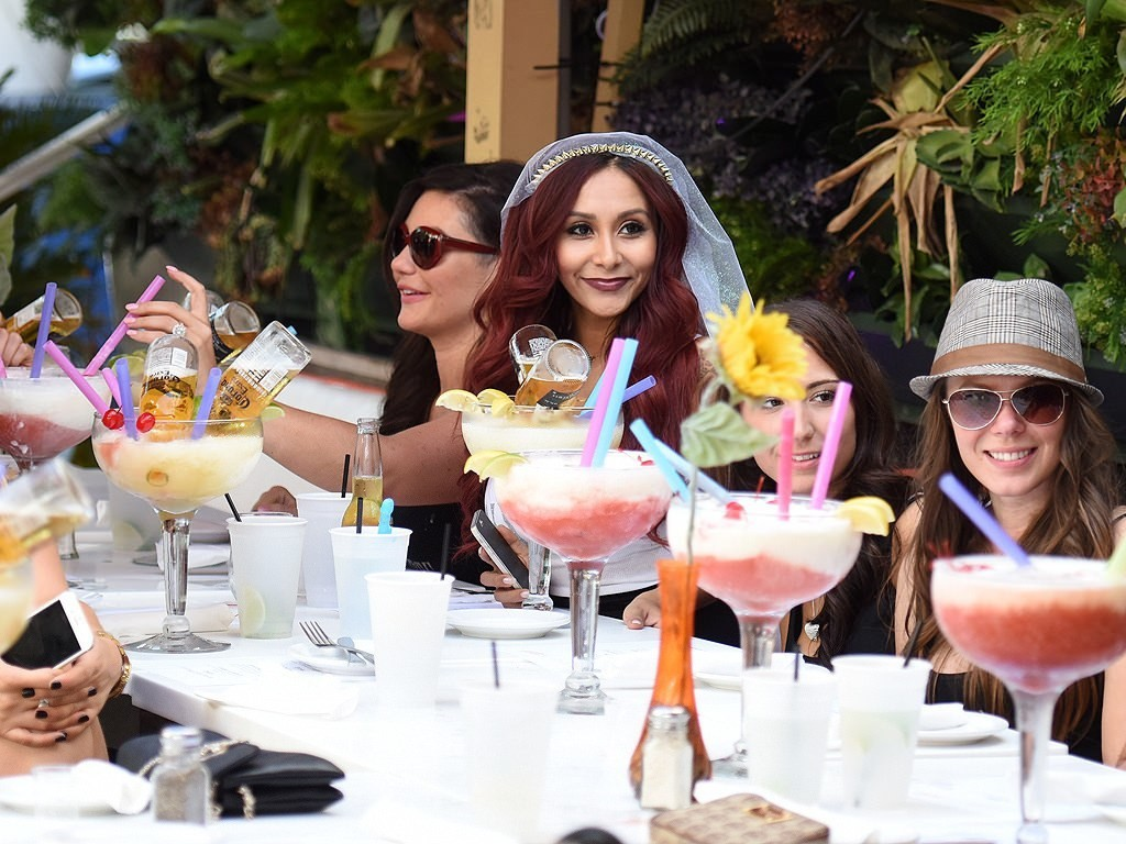 Snooki Lets Loose with JWoww at Her Bachelorette Party in Miami Beach