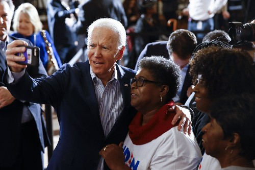 The Latest: Biden says 'Medicare for All' an 'expensive slog