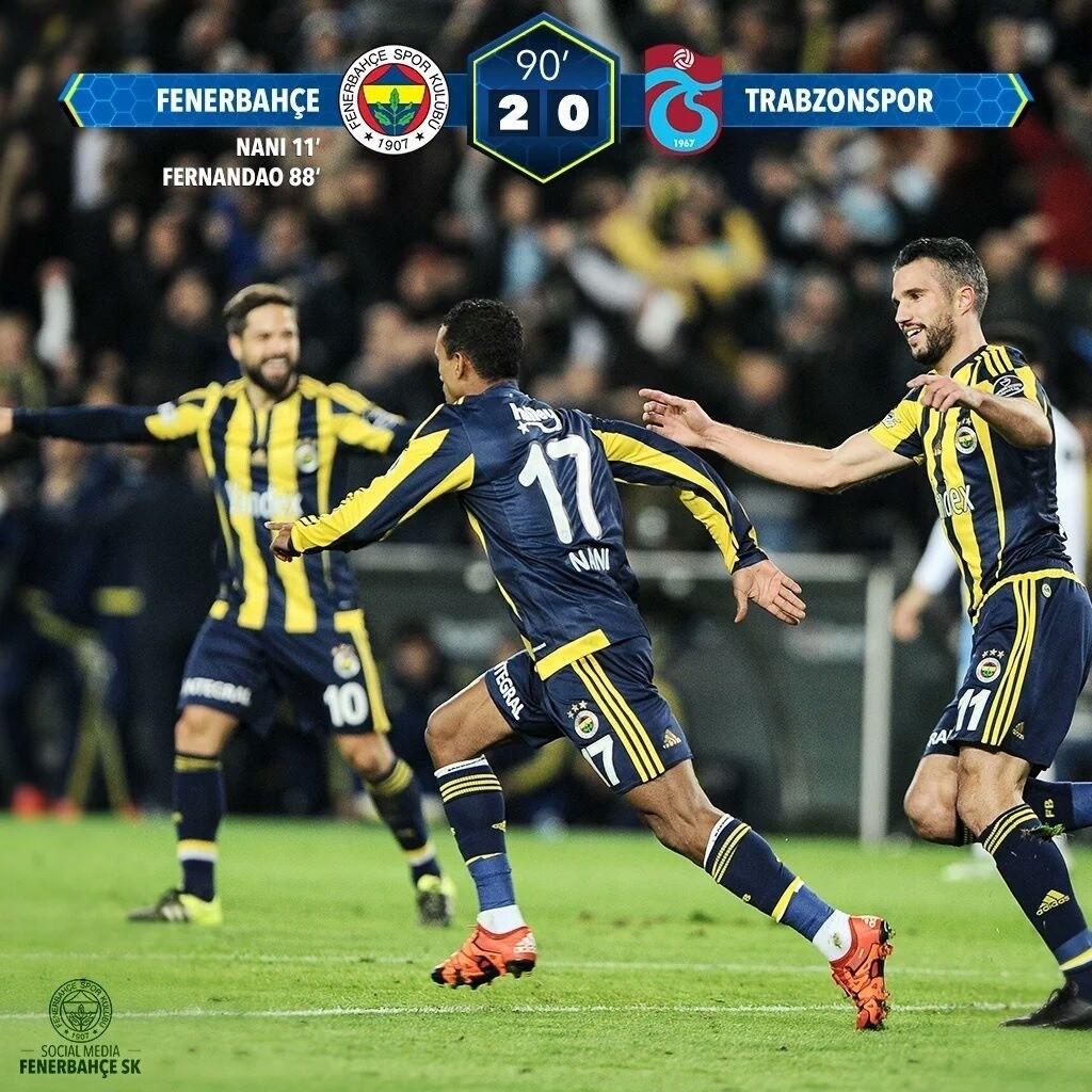 Tebrikler Fenerbahçe'm....