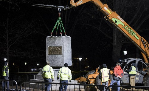 University head yanks Confederate marker, is forced out