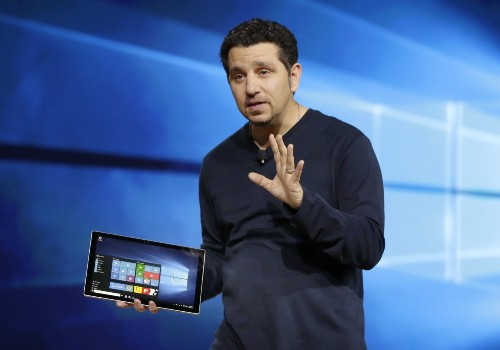 Microsoft Unveils New Products: Pictures