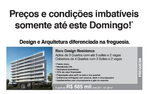 Apartamentos na Freguesia com preço e condição!