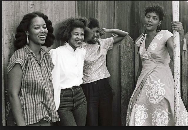 UCLA Filmmakers '83: Allie Sharon Larkin, Storme (Bright) Sweet, Melvonna Ballenger, Julie Dash