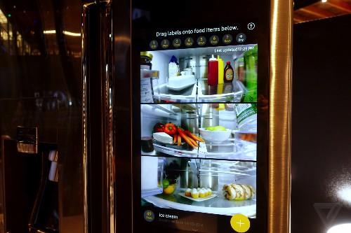 Samsung's Family Hub smart fridge is ridiculous, wonderful, and slow