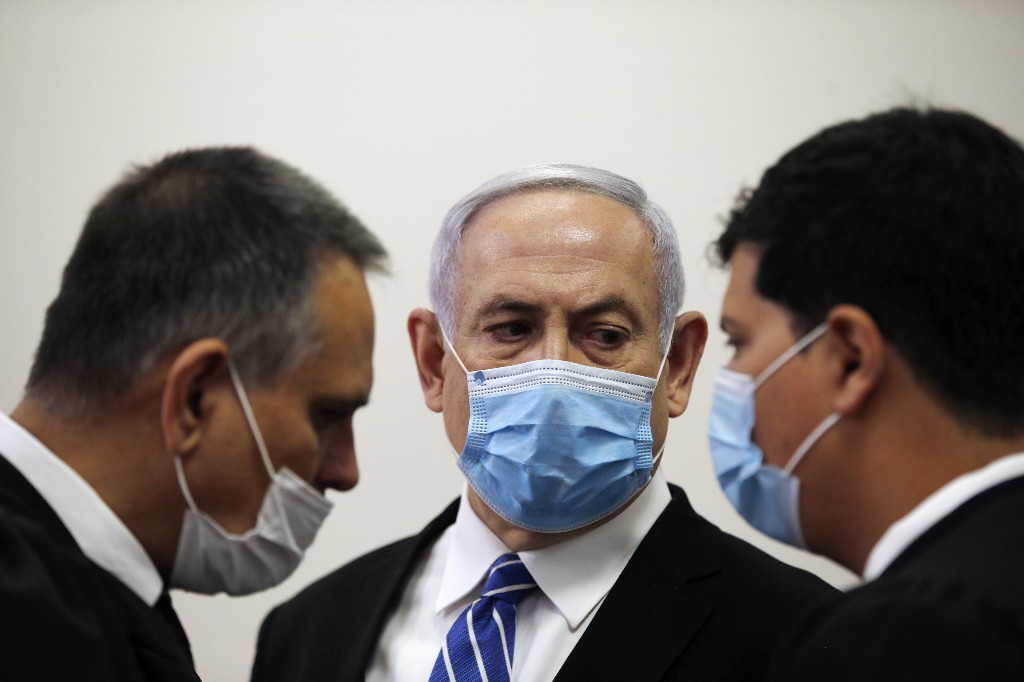 Israel's Netanyahu attacks justice system as trial begins