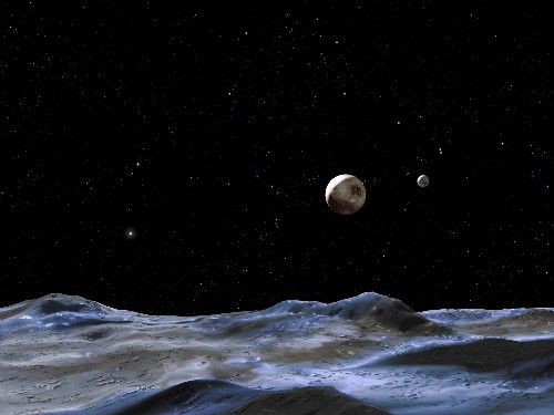 5 Sky Events This Week: Moon Meets Mars While Puny Pluto Pleases