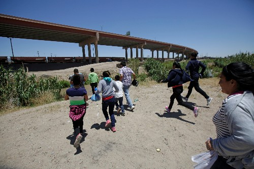 Migrants rush to enter Mexico ahead of security crackdown demanded by Trump