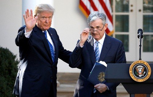 Trump on Fed's Powell: 'You can't win 'em all'