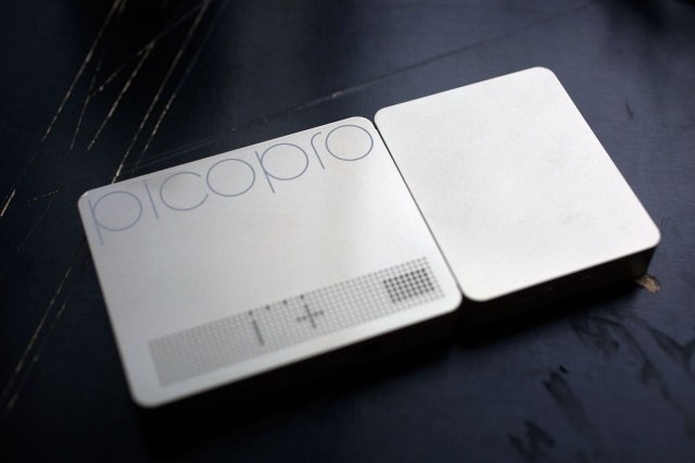 Petite and powerful: PicoPro projector puts a movie theater in your pocket