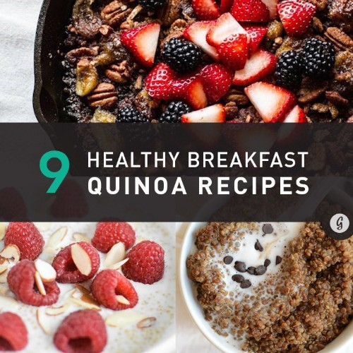 24 Breakfast Quinoa Recipes That'll Make You Forget All About Oatmeal