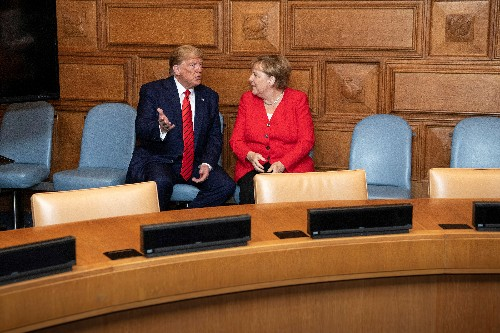 Merkel spoke to Trump about Iran and trade issues - spokesman