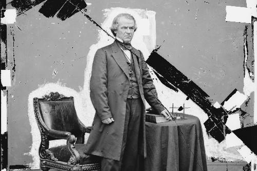 Andrew Johnson back in spotlight for 1868 impeachment brush