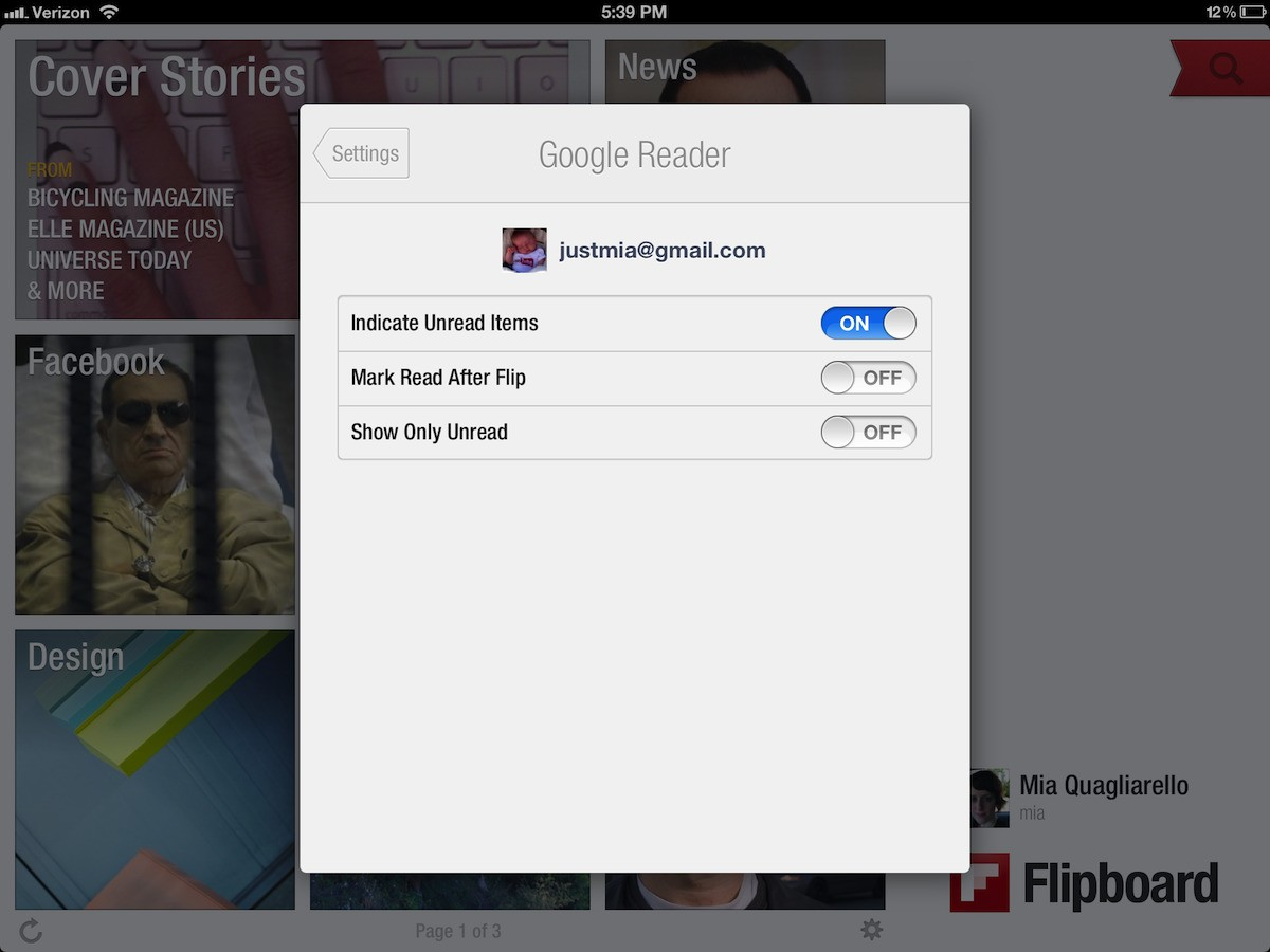 Everything You Want to Know About Google Reader on Flipboard