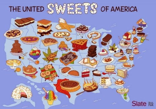 The Unofficial Dessert Of Every US State