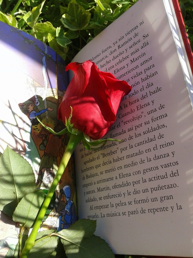 EL DÍA DEL LIBRO Y LA ROSA EN FLORIDEA - Magazine cover