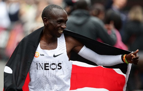 Kipchoge's sub-two hour marathon like landing on the moon