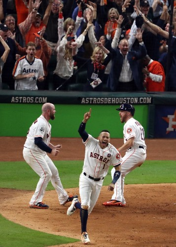 Astros Win Epic Game 5 in 10 innings Over the Dodgers: Pictures