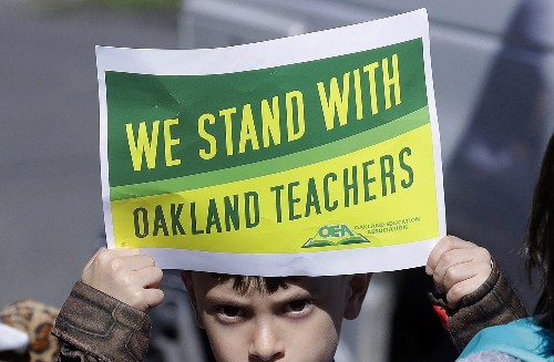 Oakland teachers go back to class after strike over pay
