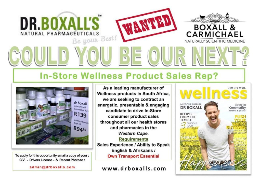 Dr. Boxall's Natural Health & Wellness News - Magazine cover