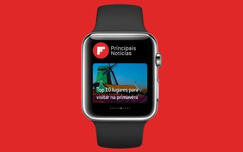 Flipboard para o Apple Watch