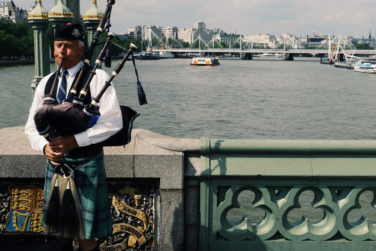 Bagpipe | London