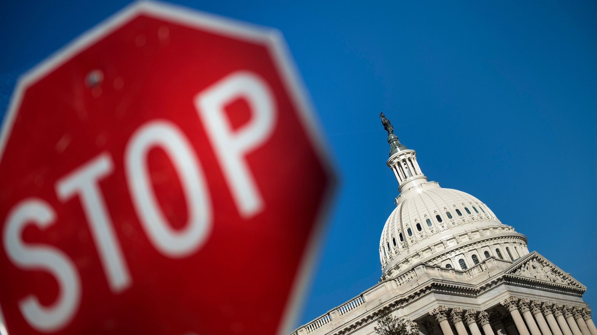 Few Signs Of Progress As Partial Government Shutdown Enters Second Day