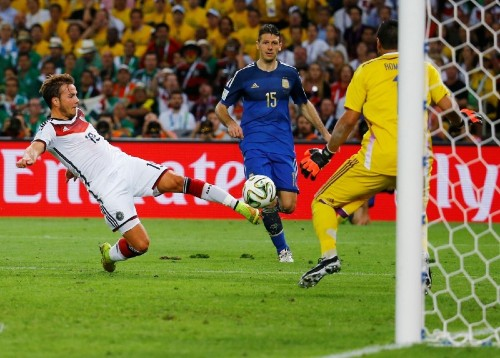 Germany Wins World Cup on Late Goal: Photos