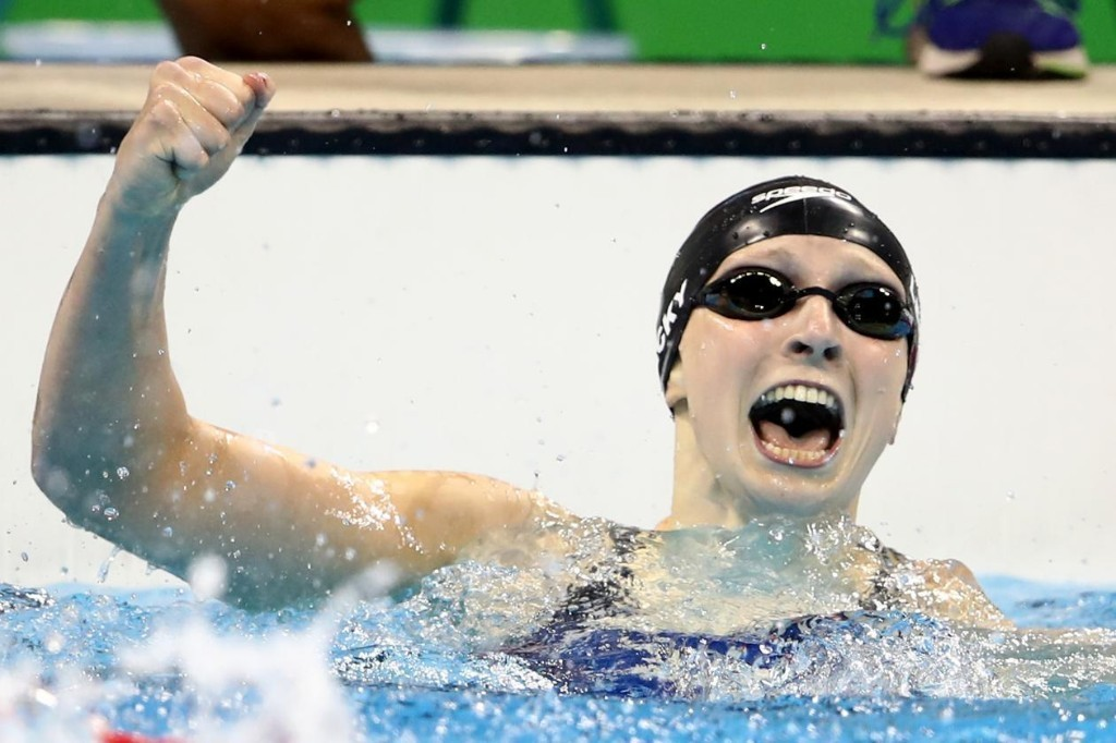 New Olympic Superstar Katie Ledecky Does Dominance Her Own Way