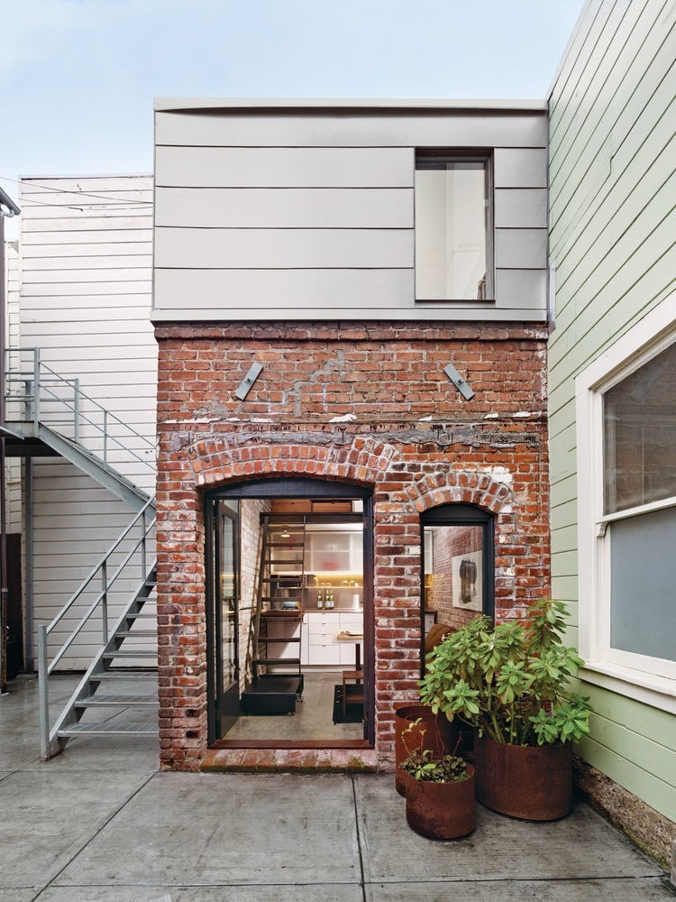 Articles about compact three story brick loft san francisco on Dwell.com - Dwell