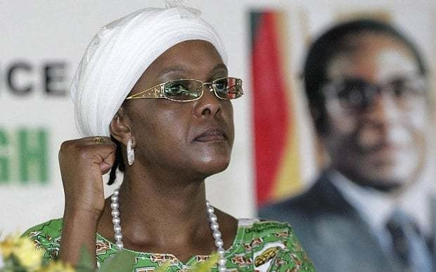 Robert Mugabe plays down wife Grace's ambitions for Zimbabwe presidency