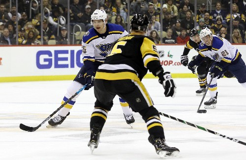 Jarry, Penguins shut out Blues