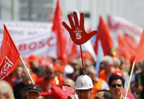 Gewerkschaft fühlt sich in Lohnforderung von EZB bestätigt