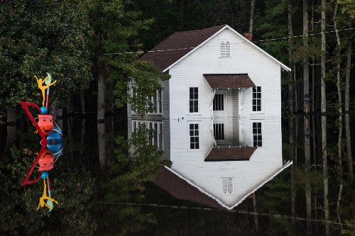 Aftermath of Hurricane Matthew in the Carolinas: Pictures