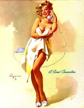 Pin-Up Girls - Magazine cover