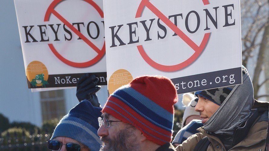 Keystone oil pipeline won't have to use American steel despite Trump's vow