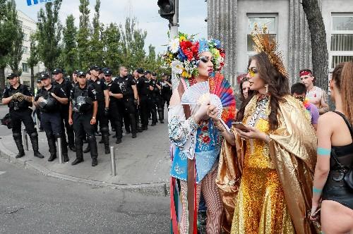 Ukraine hosts biggest ever gay pride parade