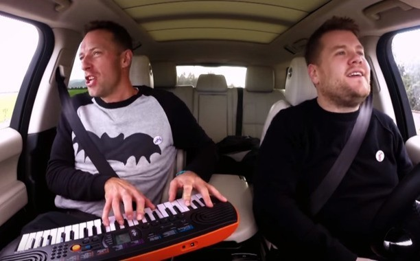 Chris Martin pays tribute to David Bowie in latest Carpool Karaoke