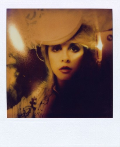 Stevie Nicks' Polaroid Self-Portraits Prove She Is The Angel Of All Our Dreams